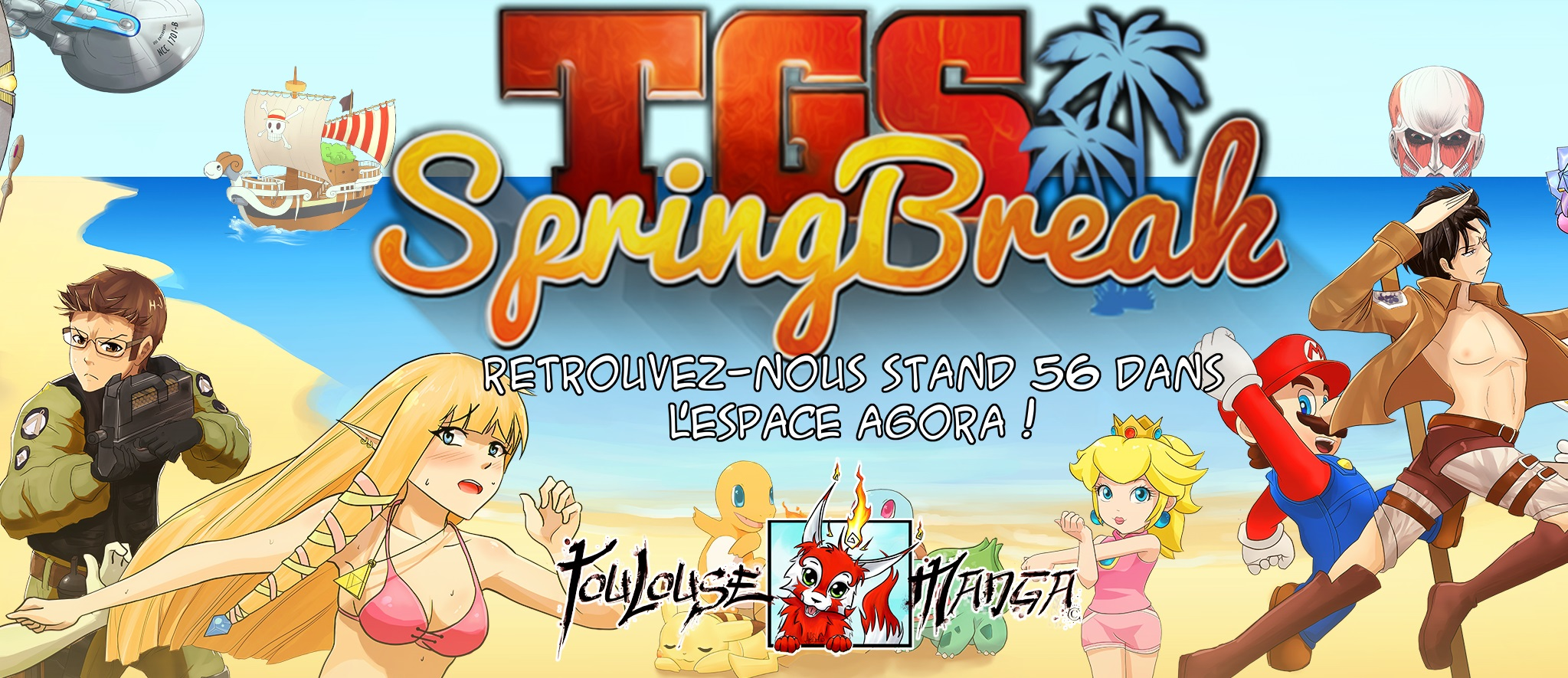 Bache TGS Spring Break couverture facebook